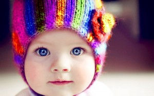 baby distinguish colors